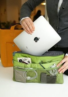 Slim Bag-in-Bag Tablet Organizer - $33