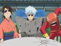 When you see your Notp holding hands or kissing...| Gintama