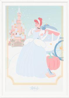 Disney Illustrations by Natacha Birds