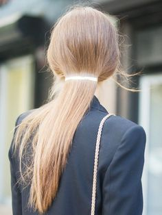 Lazy-Girl Hair Solutions für das zweite Haar – Kamile Kavaliauske - New Site Clip Hairstyles, Braided Hairstyles Tutorials, Quick Hairstyles, Straight Hairstyles, Fine Hair Bangs, Hair Color Guide, Kinds Of Haircut, Second Day Hairstyles, Straight Ponytail