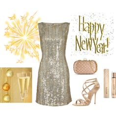 """Friday's Fancies - New Year's Finest"" by doireallywannablog on Polyvore"