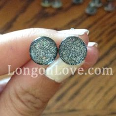 Long on Love: Nail Polish Jewelry love it! must try! www.eCrafty.com for glass tiles, bezels, bails, jewelry supplies