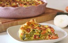 Flan coupe faim de légumes au son d'avoine weight watchers, une recette facile et simple à réaliser et à servir pour un repas du soir.