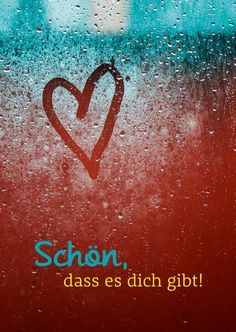 Schön, daß es dich gibt | Liebe | Echte Postkarten online versenden | Gutsch… Love Images, Words Quotes, Love Quotes, True Words, Love U So Much, I Love You, My Dear Friend, Your Crush, Loving U
