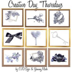 """Creative Day Thursdays!"" by cjd-sign on Polyvore"