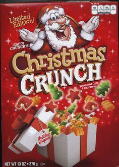 Cap'n Crunch , Christmas Crunch , Quaker 2011