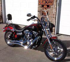2012 Harley Davidson Super Glide Custom FXDC, $11,500. Marshfield, Missouri #hd4sale #motorcycle #harleydavidsonsoftailheritage