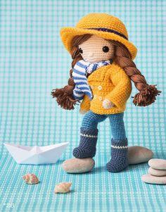 #ClippedOnIssuu from Inkijkexemplaar Mijn gehaakte pop - Isabelle Kessedijan amigurumi doll baby crochet