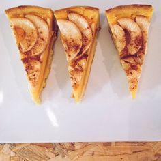 E terminar o #brunch na #oficinacc com uma fatia de tarde de maçã?
