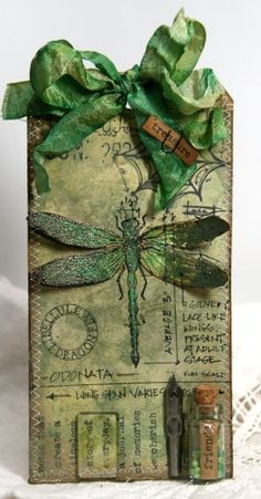 tim holtz christmas tags | Anne's paper fun: A Compendium of Curiosities 2 Challenge # 25 by ...