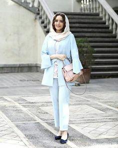 Winter Fashion Outfits, Suit Fashion, Girl Fashion, Fashion Dresses, Style Fashion, Indian Fashion Modern, Iranian Women Fashion, Street Hijab Fashion, Minimal Fashion