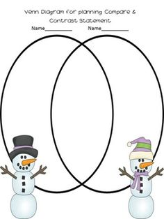 81 best pare contrast writing images on pinterest reading  snowman glyph craftivity with pare contrast writing activity first grade activities writing