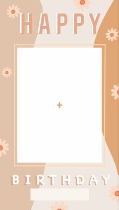 Birthday Posts, Birthday Frames, Happy Birthday Template, Happy Birthday Cards, Instagram Frame Template, Picture Templates, Aesthetic Backgrounds, Sticker Design, Instagram Story