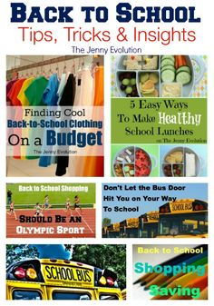 Back to School Tips and Posts | The Jenny Evolution