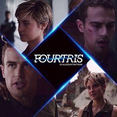 Divergent Niezgodna Insurgent Zbuntowana Tris Tobias Cztery Four Fourtris