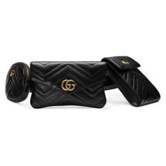 47866ae6459 GG Marmont matelassé belt bag - Gucci Belt Bags 5245970OLAT1000 Gucci  Fashion