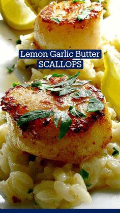 Prawn Recipes, Fish Recipes, Seafood Recipes, Gourmet Recipes, Dinner Recipes, Cooking Recipes, Elegant Appetizers, Seafood Appetizers, Seafood Dishes