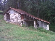 "next bees' headquarter, surrounded by chestnut, beech and elm. This house is called Levàa wich means in ancient local language ""rising sun"""