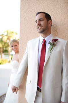 Details about boda apoyo de la foto del novio matrimonio for Boda en jardin como vestir hombre