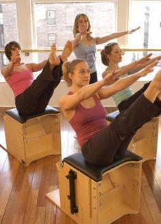 Teaser on the Pilates Wunda Chair