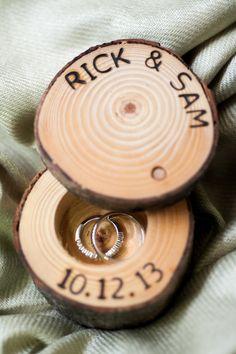 custom wood ring box