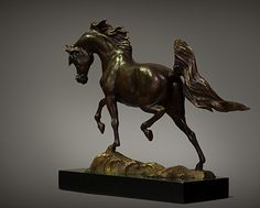 """""""Places to Go, Things to Do"""" by Carol Fensholt Bronze ~ 19"""" x 24"""""""