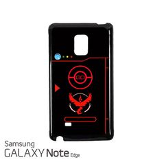 Pokedex Valor Pokemon GO Samsung Galaxy Note EDGE Case Cover