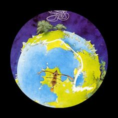 Fantastic cover art for a fantastic album: Fragile by the progressive rock band Yes. A very popular track was Roundabout