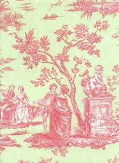 """Pretty toile   """"I hope all my toile pins makes your heart happy Metzee !"""" xoxo"""