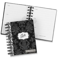 Damask Gift Record Book