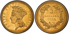 GOLD Indian Head Coin, designed by James Barton Longacre. part gold, part copper. Us Coins, Rare Coins, Indian Prince, Coin Display, Gold Money, American Coins, Gold And Silver Coins, Indian Head, Mountain Man