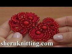 (3968) Crochet Beaded Element Tutorial 49 - YouTube