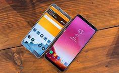 5 recursos que o Galaxy S8 tem que o rival LG G6 não tem