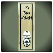 It's beer o'clock! Bottle Opener.