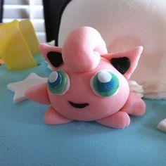 Jiggly Puff on Pokemon cake