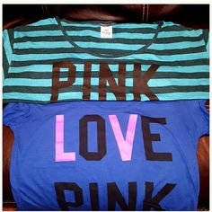 Selling this VS PINK Tees/Adorable NWOT in my Poshmark closet! My username is: lulouperry. #shopmycloset #poshmark #fashion #shopping #style #forsale #PINK Victoria's Secret #Tops