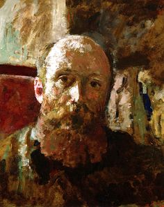 Self portrait / Edouard Vuillard