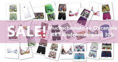 De SALE is begonnen bij #Underfashion. Profiteer nu van 30% korting op Muchachomalo en Chicamala ART kinderondergoed. Bestel bij  https://www.underfashion.nl/muchachomalo.