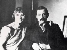 Suzanne Valadon e Maurice Utrillo  in 1930   © Diritti Riservati  #modigliani