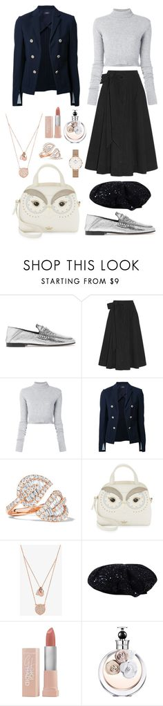 """""""Untitled #1383"""" by rubysparks90 ❤ liked on Polyvore featuring Isabel Marant, Lisa Marie Fernandez, Faith Connexion, Theory, Anita Ko, Kate Spade, Michael Kors, Maybelline, Valentino and Daniel Wellington"""