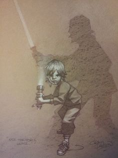 Star Wars - Use the Force, Luke by Craig Davison
