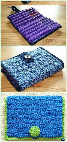 Crochet Hook Case Free Pattern - DIY Gift Ideas for Crocheters
