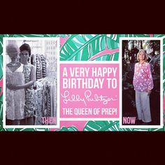 A style icon who I adore. Happy Birthday, Lilly 2012! #island_girl
