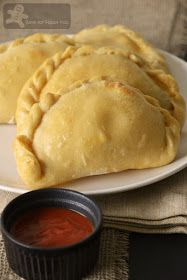 Easy Calzones Pioneer woman (I have not made these allergen friendly yet)