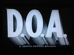D.O.A. 1950 Rudolph Mate´