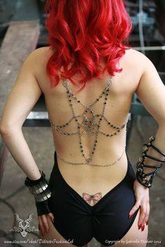 Pentagram Harness by Diktator Fashion Lab
