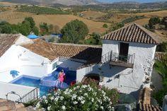 Rooftop view to the Sierra de las Nieves.