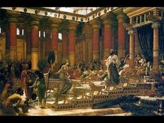 'The Visit of the Queen of Sheba to King Solomon', oil on canvas painting by Edward Poynter, Art Gallery of New South Wales - Solomon - Wikipedia, the free encyclopedia King Solomon's Mines, Kings Of Israel, National Gallery, Ancient History, Israel History, Oil On Canvas, Islam, Art Gallery, Queen