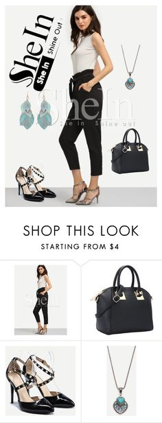 """""""5#SheIn"""" by hazreta-jahic ❤ liked on Polyvore featuring vintage"""