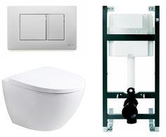 Ido Seven D Image Seinä-WC Paketti, Täydellinen, Slow Close, Siflon pinnoitus - Talotarvike.com